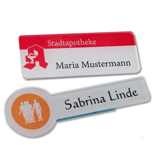 Namensschilder - Badges