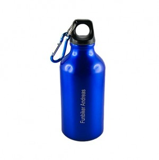 Trinkflasche 350 ml aus Aluminium mit individueller Gravur